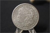 A78 1892-S Morgan AU58, Coin's, Collectibles, Jewelry, Gold