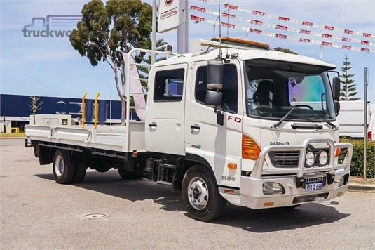 2013 Hino 500 Series 1124 FD - Trucks for Sale
