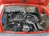 1960 Fiat Autobianchi Bianchina Transformable Auto