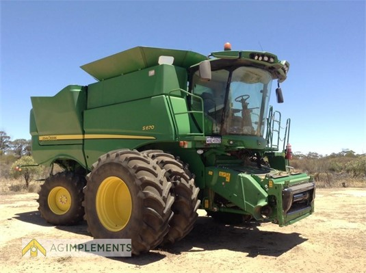 2013 John Deere S670 Ag Implements - Farm Machinery for Sale