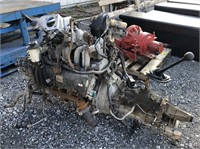 4 Cylinder Ford Engine and Transmission
