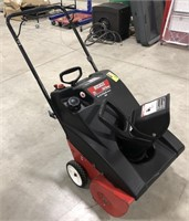 Huskee Snow Blower. Single stage, 21in clearing