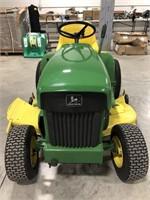 John Deere 112 tractor.