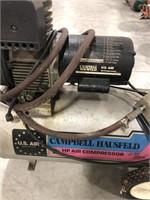 Campbell Hausfeld 2 HP air compressor. 125 PSI ,