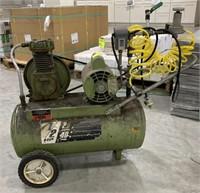 Montgomery Ward Air Compressor. 1/2 HP, 40 PSI,