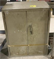 Metal Cabinet with Vented Backing