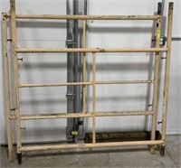 Scaffolding section