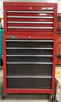 Craftsman and Homak tool chest