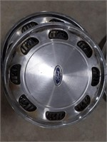 "15"" Ford hubcap"