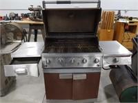 Brinkmann propane outdoor grill