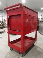 Tool box cart. No key.