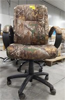 Camouflage office rolling chair