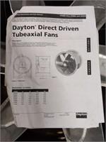 "24"" Dayton Direct Driven Tubeaxial Fan"