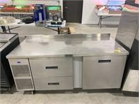 Randell 2 drawer, 1 door refrigerated worktop