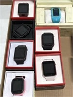 Lot of Various Smart Watches