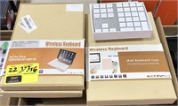 Lot of Various Wireless Keyboards