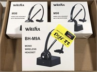 Willful BH-M9A Mono Wireless Headset