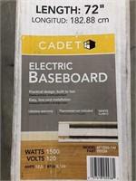 Electric 72in Heated Baseboard