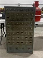 54 Drawer Metal Storage Cabinet
