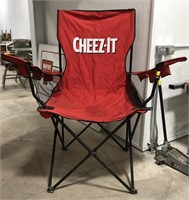 King-size Cheez-it chair