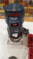 Bosch Colt 1hp Palm Router w/4 Woodpeckers Box