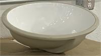 NOS Contemporary Porcelain Bowl Sink