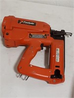 Paslode Cordless Nail Gun. In case with battery,