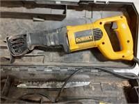 Dewalt Sawsall. Model DW 304 P with case.