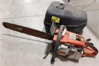 Stihl model 031 AV Chainsaw. With case.
