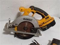 Lot of Dewalt Cordless Tools.  (2)Recip saws, Trim