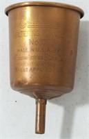 Vintage Coleman Lantern Filtering Funnel No.0.
