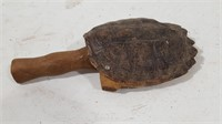 Vintage Tortoise Shell Grain Scoop