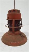 Vintage Embury Lantern w/Red Lens