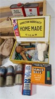 Lot of Vintage Ammunition and Supplies