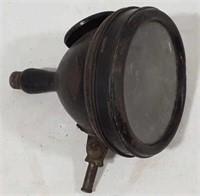 Antique Hawthorne Mfg Auto Headlamp w/Mirror.