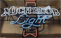 Michlelob Light Advertising Neon sign