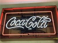 Coca~Cola Neon Advertising Sign
