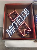 Michelob Neon Advertising Sign