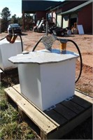 50 Gal Fuel Tank w/ Hand Pump and Filter