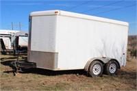 16' Interstate Tandem Axle Cargo Trailer