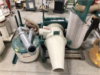 Grizzly G0441 3HP cyclone dust collector system