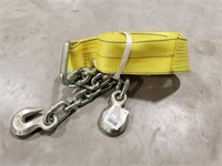 Tow Strap. Yellow.