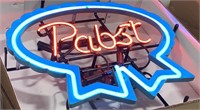 Pabst Blue Ribbon- Neon advertising sign