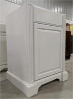 "Exeter Snowdrift 24"" vanity cabinet"