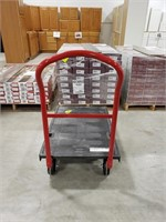 RubberMaid plastic rolling push cart 1000 lb