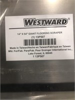Westward 14in x 54in Flooring Scraper