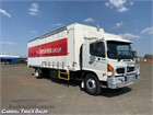 2007 Hino 500 Series 1727 GH Tautliner / Curtainsider