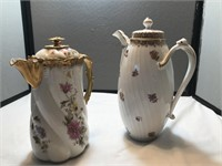 2 Picthers, very Beautiful Limoges