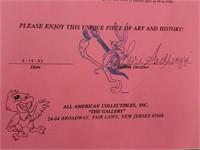 Rare Important 1950 Production Art By Walt Disney
