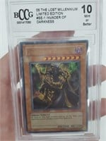 Invader of Darkness Ultra Rare LE Grade 10 Mint